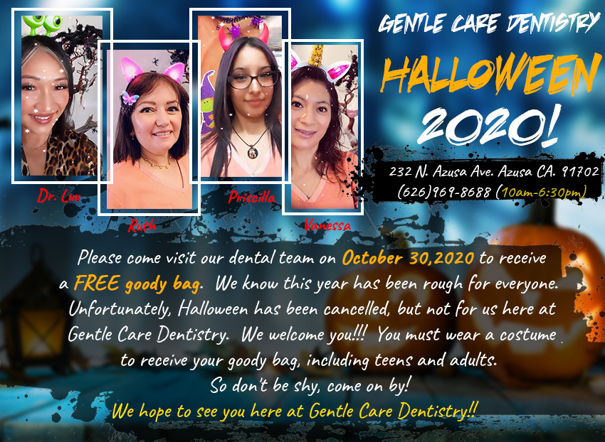 Gentle Care Dentistry - Halloween 2020