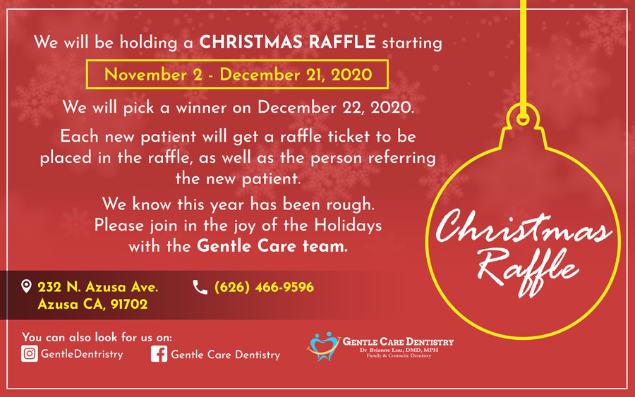 Gentle Care Dentistry - Christmas Raffle